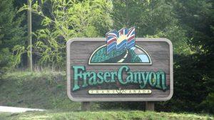 Einfahrt zum Fraser Canyon
