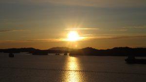 Sonnenuntergang in Prince Rupert