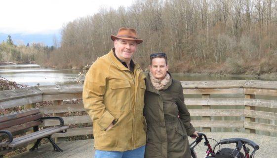 Bild von Petra und Hagen in Fort Langley - Neuigkeiten