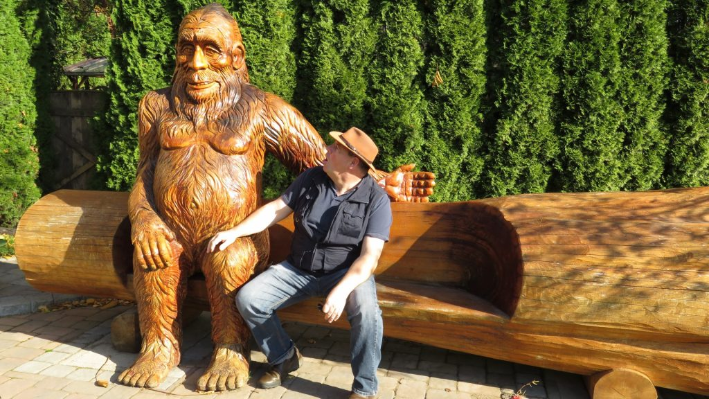 Bigfoot in Harrison Hot Springs