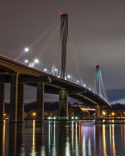 Port Mann Bridge - Fine Art View
