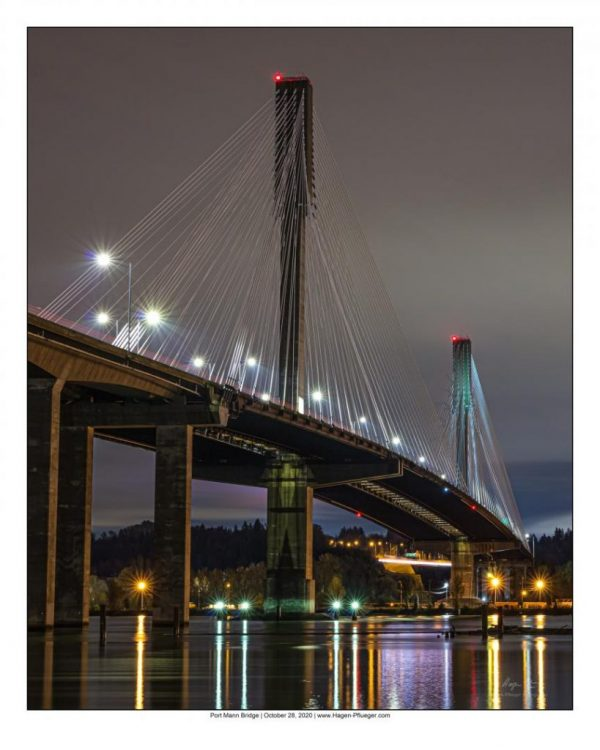 Port Mann Bridge - Fine Art View