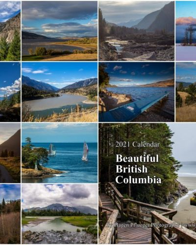 2021 Calendar - Beautiful British Columbia